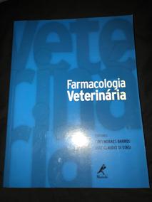 Livro De Med. Veterinária - Farmacologia Veterinária.