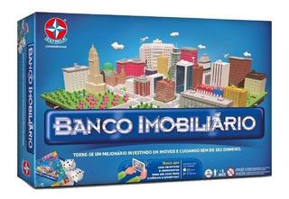 Jogo De Tabuleiro Banco Imobiliario Grande - Estrela