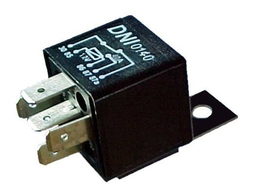 Rele Auxiliar 12v 5 Terminais 40 Amperes Dni 0140 (40peças)