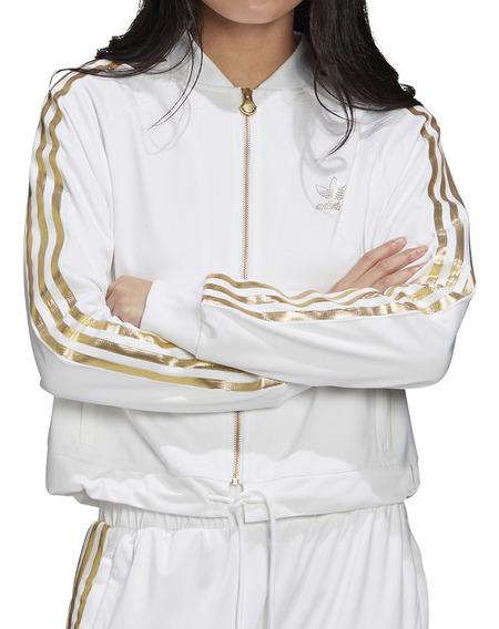 Campera adidas Originals Moda Sst Tt 2.0 Mujer Bl/do