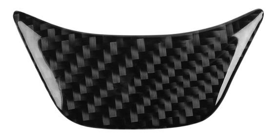Carbono Fibra Carro Governo Roda Cobertura Aparar Decorativo