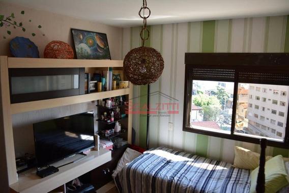 Apartamento Com 4 Dormitórios Para Alugar, 144 M² Por R$ 4.000,00/mês - Perdizes - São Paulo/sp - Ap1275