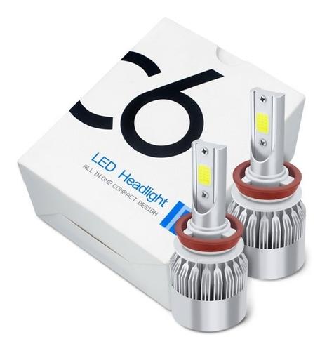 Par(2) Bombillos Luz Led Carro O Moto 8000lm (luces Led)