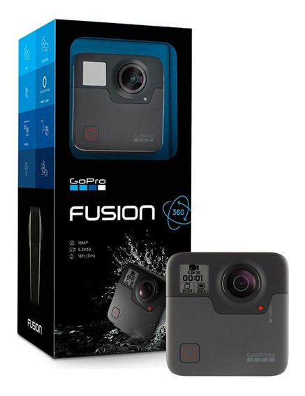 Câmera Filmadora Gopro Hero Fusion 360 + Tripé + Lacrado