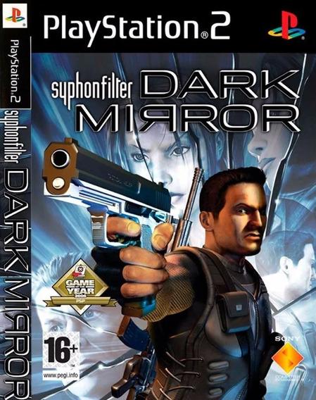 Jogo Ps2 Syphon Filter Dark Mirror Original Lacrado Fisica
