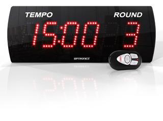 Cronômetro Para Academia Treino Luta Circuito Crossfit 38x14