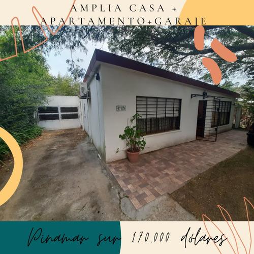 Pinamar Sur Amplia Casa+apartamento+ Con Bgaraje