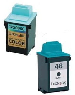 Lote 2 Cartuchos Lexmark 17g0648 Y 17g0060 Vacio