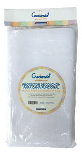 Protector Cubre Colchon Impermeable Reforzada 75 X 140 Cm