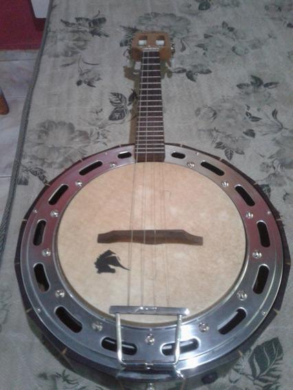 Banjo Marques Caixa Alta Semi Novo-pouco Uso Na Capa Eletric