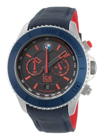Relógio Bmw Ice Chronograph Motorsport Original
