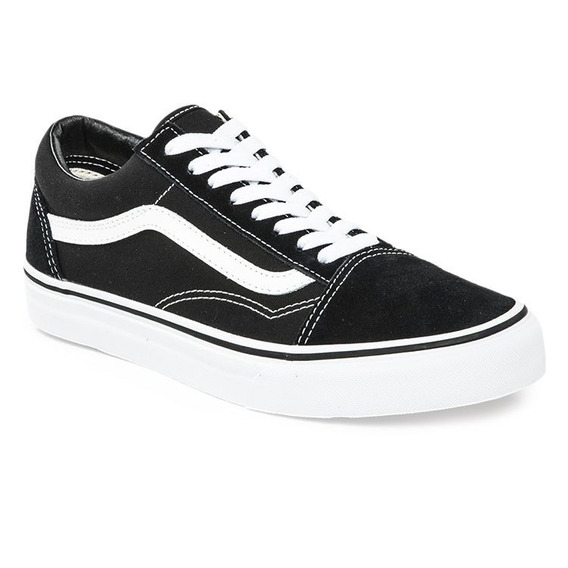 Zapatillas Vans Mod Old Skool Negro /blanco!! 100% Original!