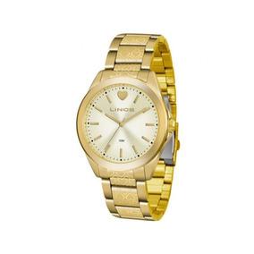 Relógio Lince Feminino Dourado Lrg4569l C1kx