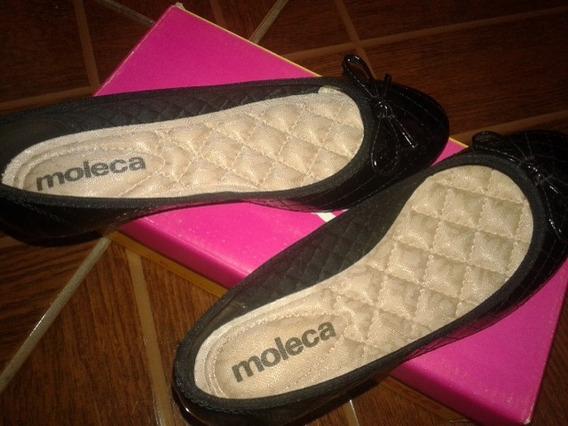 Sapato Sapatilha Molecada Feminina : Preto Tamanho :34