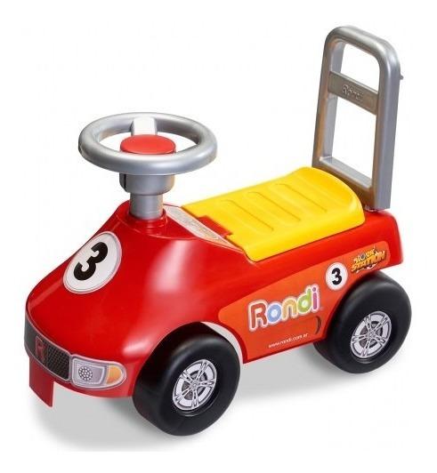 Andador Rondi Racing 2021 Con Porta Objetos En El Asiento