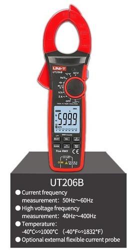 Pinza Amperimetrica Uni-t Ut 206b