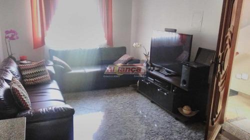 Sobrado Com 3 Dormitórios À Venda, 140 M² - Vila Capitão Rabelo - Guarulhos/sp - Ai18334