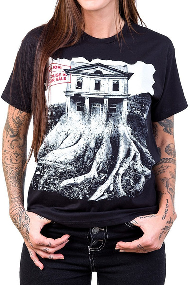 Camiseta Bon Jovi This House Is Not For Sale Bandalheira