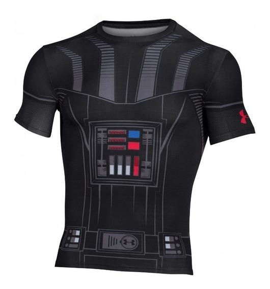 Remera Compresion Under Armour Dasth Vader