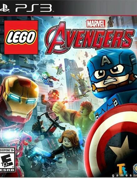 Lego Marvel Avengers Ps3 Play3 Português Jogo Comprar