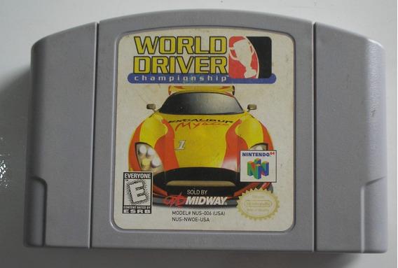 World Driver Championship Nintendo 64 Original Usada