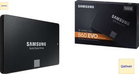 Ssd Samsung Evo 860 500 Gb V-nand (sem Pronta Entrega!)