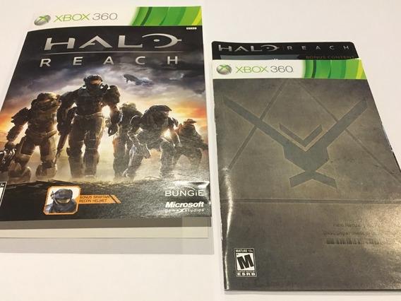 Xbox 360 Original - Manual Halo Reach