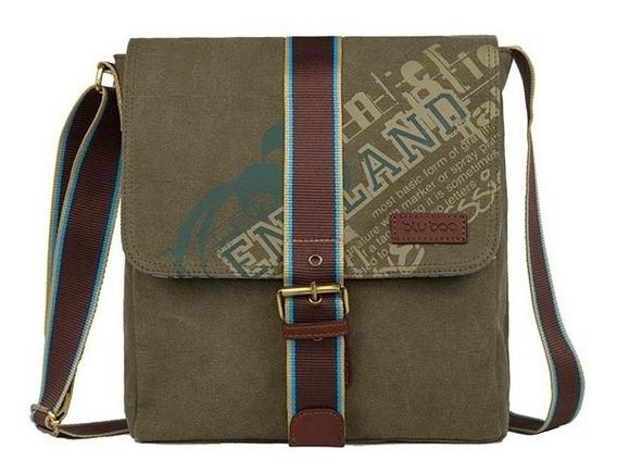Crossbody Caballero Blu Bag Compartimento Para Tablet 2213-a