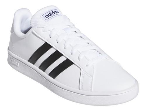 adidas Grand Court Base Ftwwht/cblack/dkblue