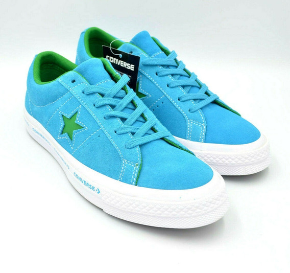 Converse #4-5 One Star Suede Ox Hawaiian Ocean Shoes 259813c