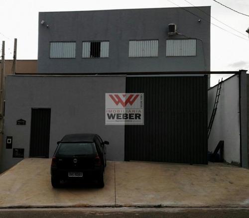 Imagem 1 de 13 de Barracão Comercial, 300 M² Á Venda Por 670.000,00 Parque São Bento - 201