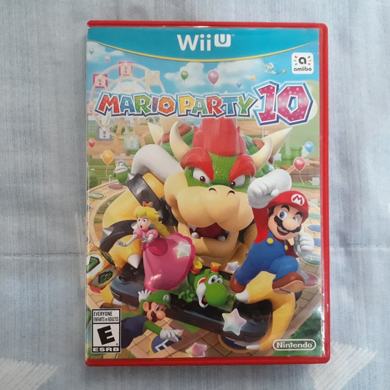 Nintendo Wii U - Mario Party 10 + Panfletos + Case