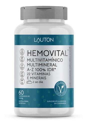 Hemovital - Multivitamínico 60 Comprimidos Lauton Nutrition