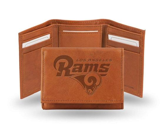 Cartera Piel Genuina Los Angeles Rams