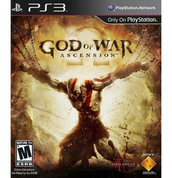 God Of War Ascension Português Ps3 Psn Jogo