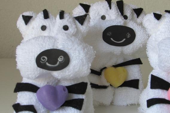 Souvenir Infantiles X 10 Animales De Toalla