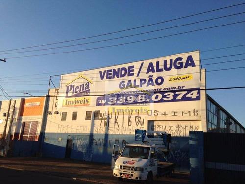 Galpão Comercial Para Venda E Locação, Jardim Nova Terra (nova Veneza), Sumaré - Ga0048. - Ga0048