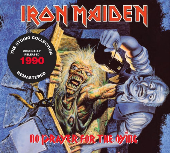 Cd Iron Maiden No Prayer For The Dying (1990) Remastered