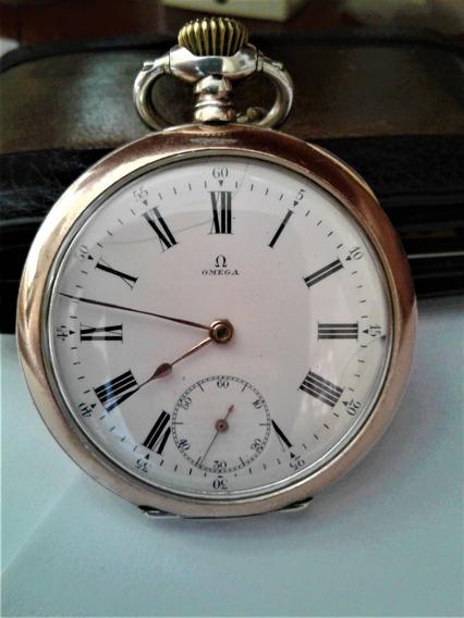 Relógio Joia Omega Grand Prix Paris 1900 Ouro/prata 3 Tampas