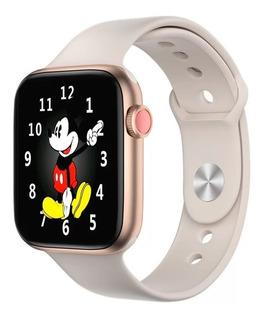 Smartwatch Feminino Iwo 8 Pro Bluetooth Ios Android Serie 5