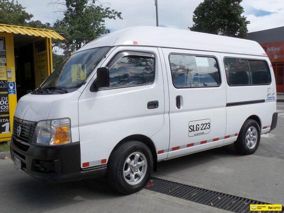 Nissan Urvan Techo Alto 3.0
