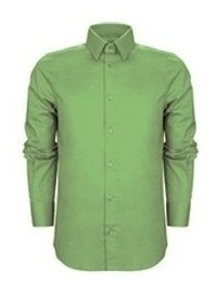 Camisa Hombre Lisa Color M/ Larga Talle Especial 46 48 50 52
