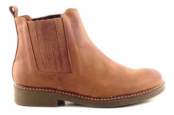 Botineta Mujer Cuero Briganti Borcego Zapato Bota Mcbo24555