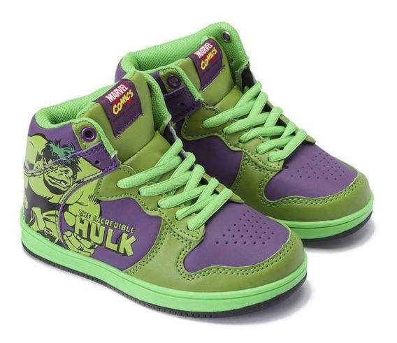 Zapatillas Hulk Marvel Atomik Avengers Fty Calzados