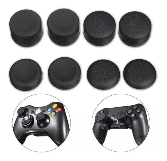 8 Unidades Conjunto Grip Analogico Controle Ps4 Xbox One