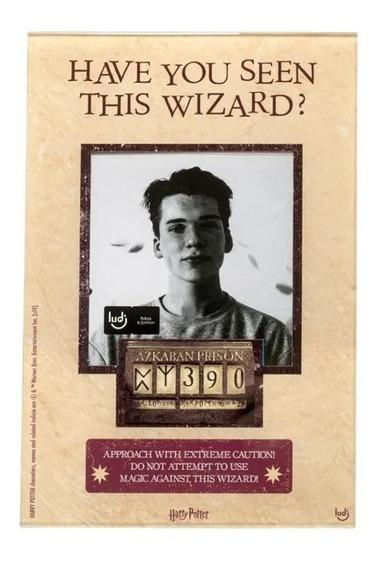 Porta Retrato Harry Potter Wanted - Ludi