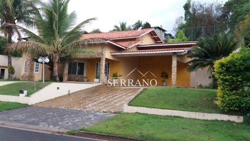 Imagem 1 de 30 de Casa À Venda, 360 M² Por R$ 1.250.000,00 - Condomínio Estância Marambaia - Vinhedo/sp - Ca0347