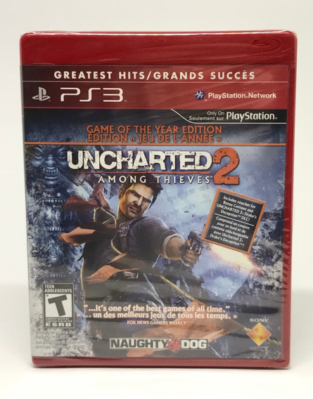 Jogo Ps3 Uncharted 2 Among Thieves Sony - Bcus90084