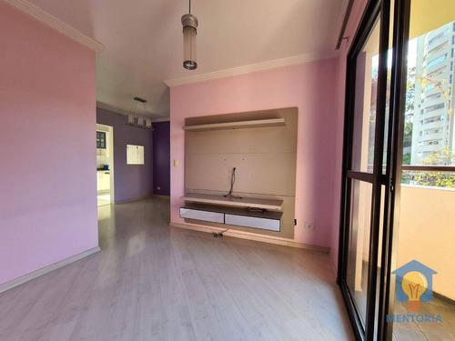 Apartamento Com 3 Dorms À Venda, 70 M² Por R$ 379.000 - Jardim Ampliação - São Paulo/sp - Ap0074