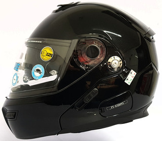 Casco Abatible Grex De Nolan G9.1 Evolve Kinetic Negro Brill